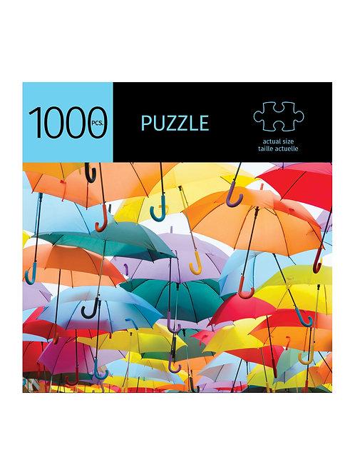 1000 Pc. Puzzle - Umbrellas