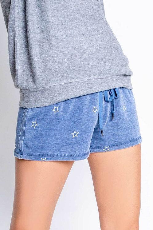 American Revival Denim-Look Shorts (PJ Salvage)