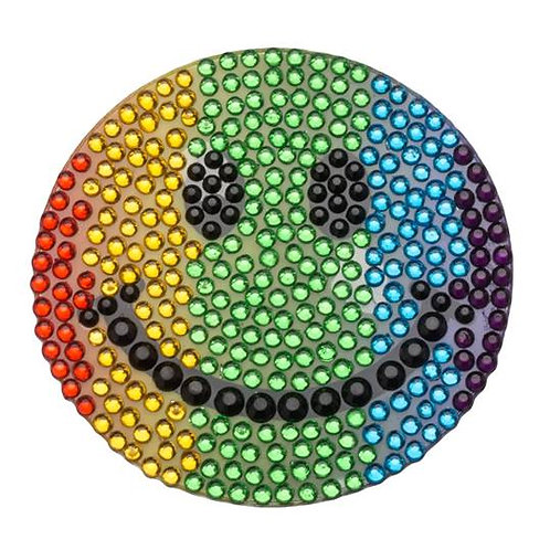 Rainbow Smiley Stickerbean
