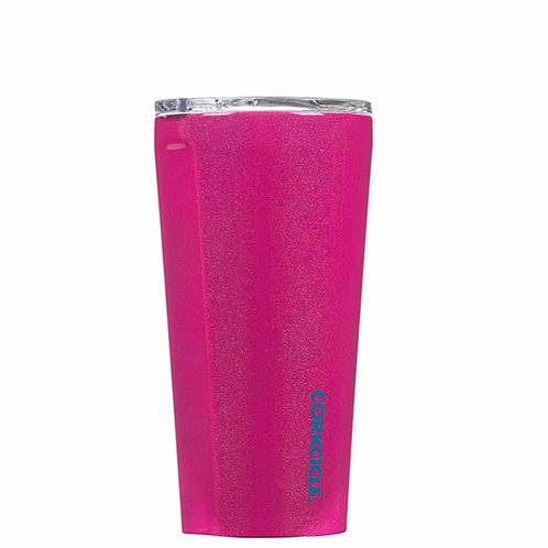Corkcicle 16 oz Tumbler - Unicorn Pink Sparkle