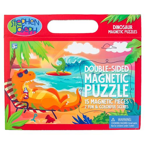 Dinosaur Double Sided Magnet Puzzle