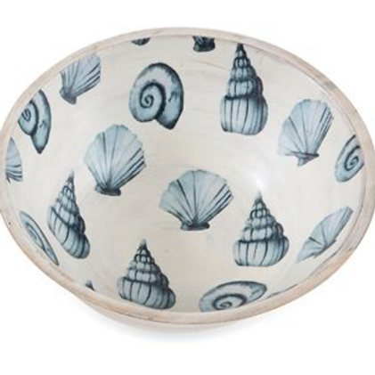 Shell Wooden Bowl - Multiple Shells