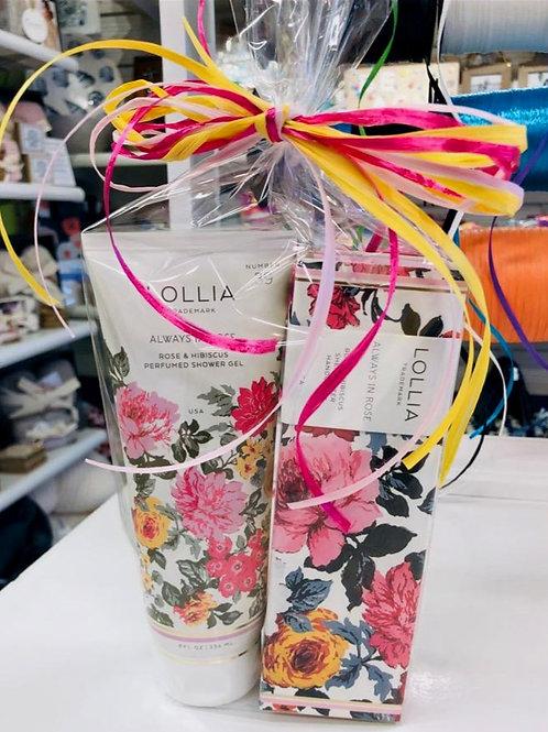 Lollia Handcreme & Shower Gel Set - Always In Rose