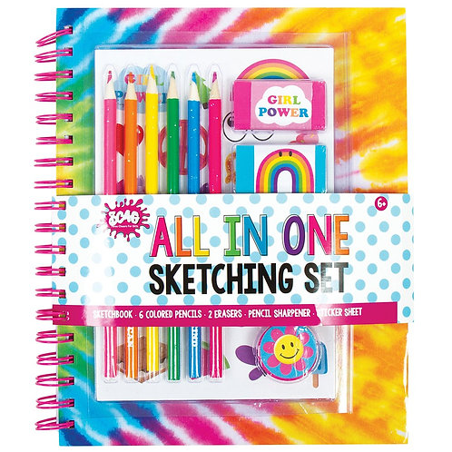 All In One Tie Dye Sketching Gift Set