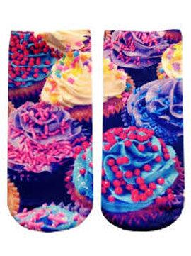 Cupcakes Living Royal Ankle Socks