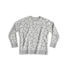 Fluffy Grey Leopard