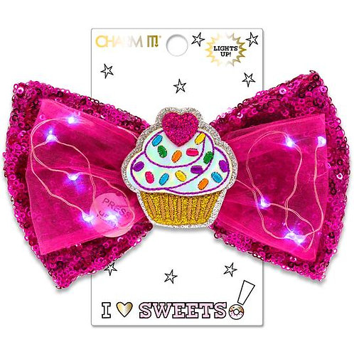Charm It! LED Sequin Bow - Sweets