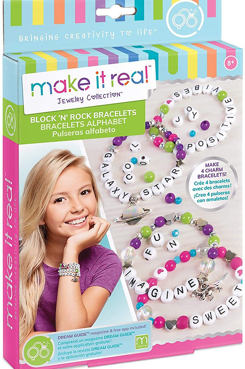 Block N Rock Bracelet Making Gift Set