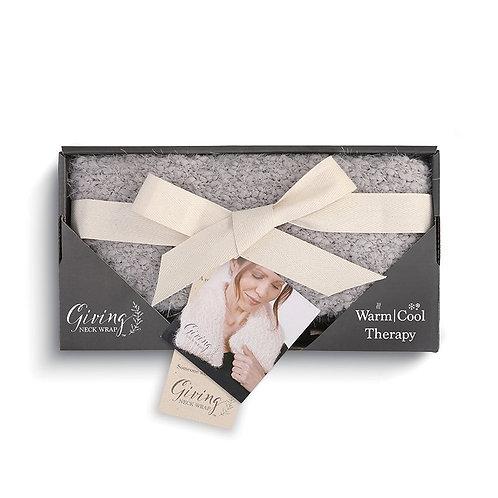 Giving Collection - Gray Warming Neck Wrap