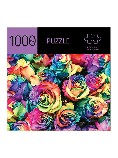 1000 Pc. Puzzle -Painted Roses