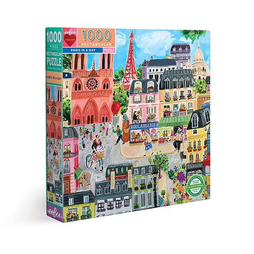 1000 Pc. Puzzle - Paris In A Day