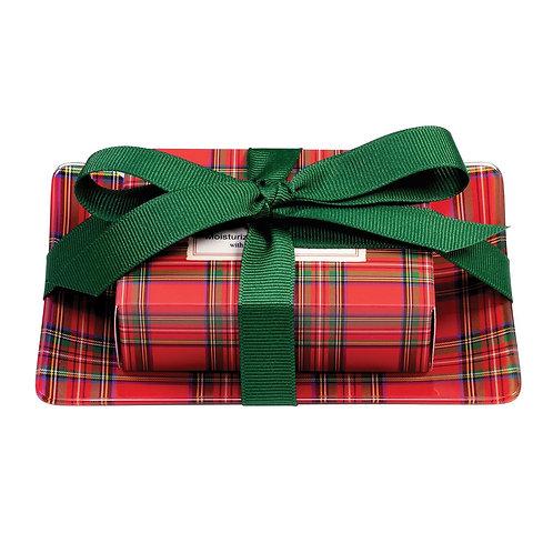Michel Design Tartan Soap Gift Set