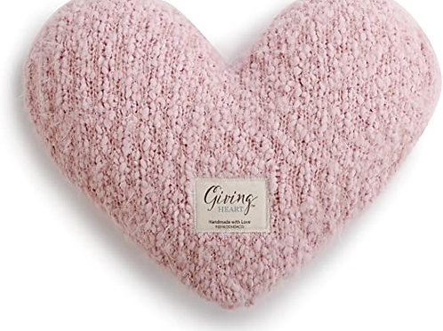 Giving Collection - Pink Heart Pillow