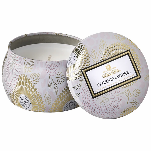 Voluspa Petite Tin Candle - Panjore Lychee