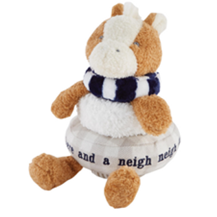 Stackable Plush Toy - Navy Horse