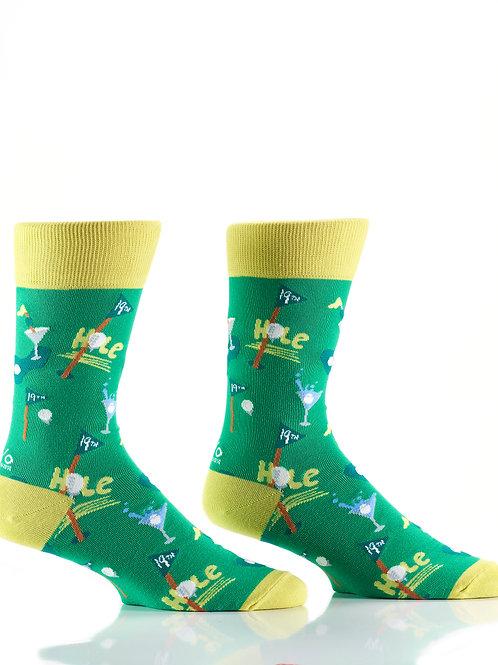Men's Socks - Golf 19th Hole
