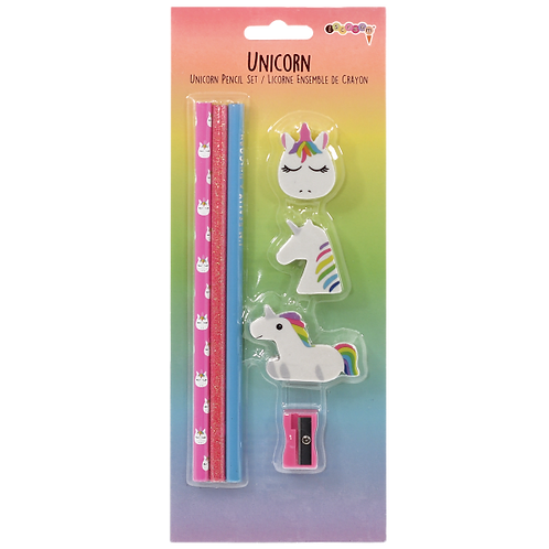 Unicorn Pencil Set