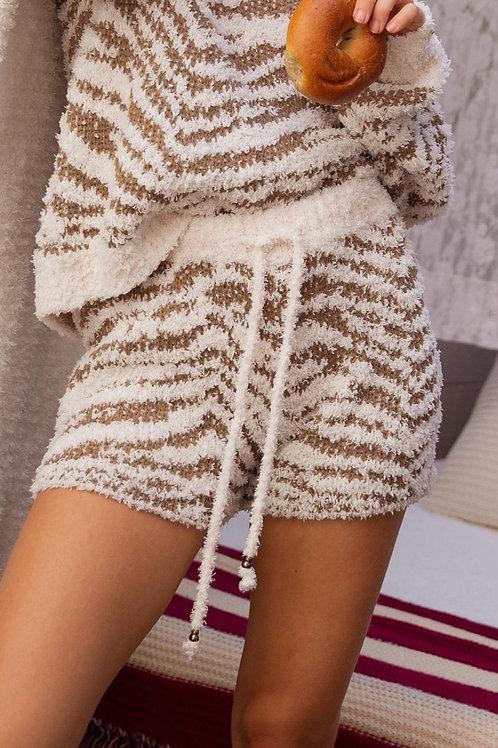 Olive Zebra Shorts