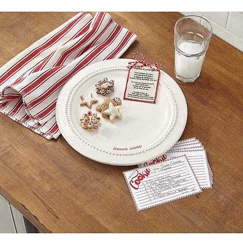 Christmas Cookie Plate Gift Set - Sweet Swap