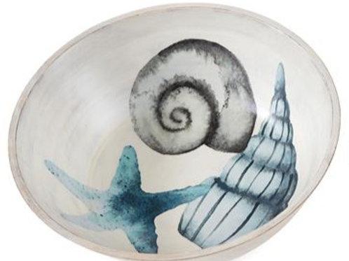 Shell Wooden Bowl - Big Shells