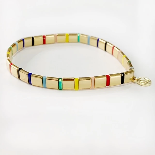 Supernova Gold/Rainbow Bracelet