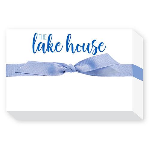 Lake House Notepad