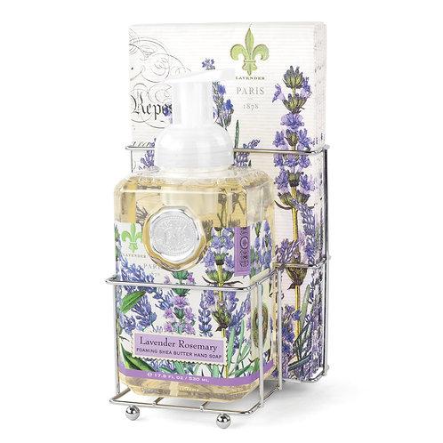 Hand Soap & Napkin Gift Set - Lavender Rosemary