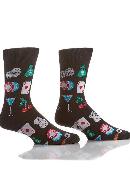 Men's Socks -Casino