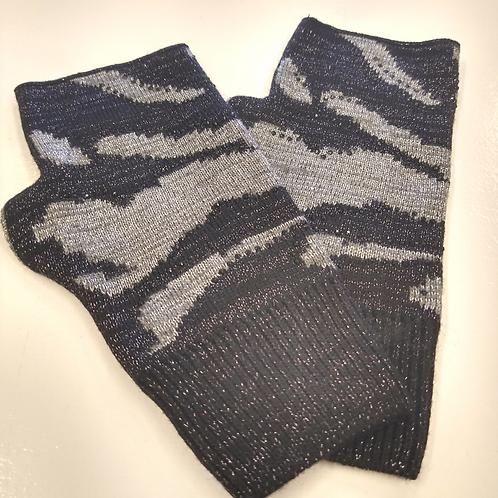 Fingerless Gloves - Camo Shimmer (Haute Shore)
