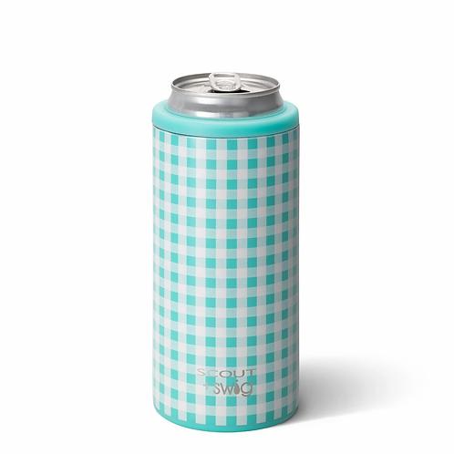 Swig 12 oz Skinny Can Cooler -Barnaby Checkham