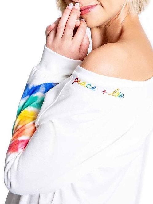 Tie Dye Banded Long Sleeve (PJ Salvage)