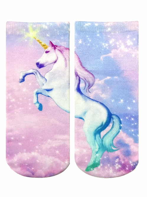 Unicorn Living Royal Ankle Socks