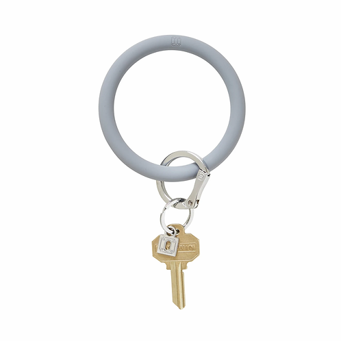 Big O Keyring - Gray