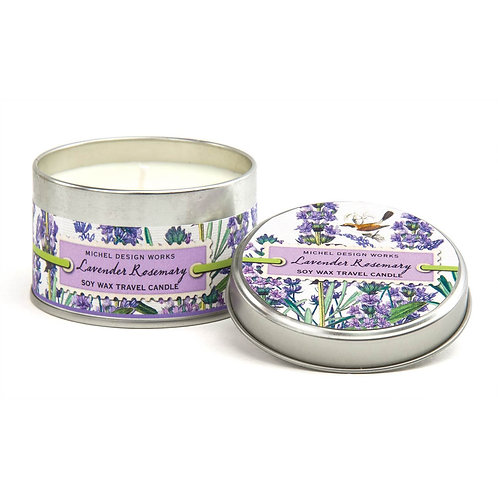 Small Tin Candle - Lavender Rosemary
