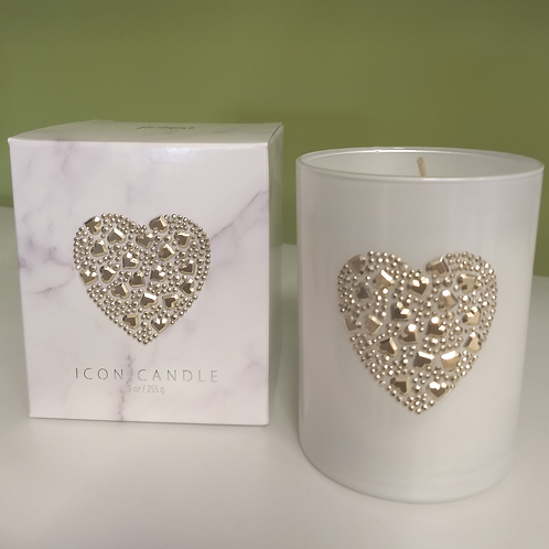 Icon Candle - Heart