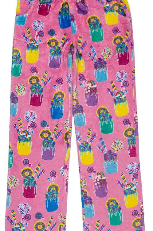 Girl Cozy PJ Pants - Pink Milkshake