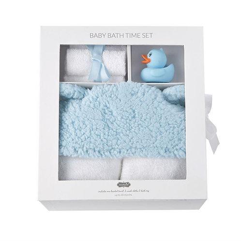 Baby Bath Time Gift Set Blue