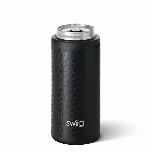 Swig 12 oz Skinny Can Cooler -Croc