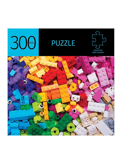 300 Pc. Puzzle - Building Blocks