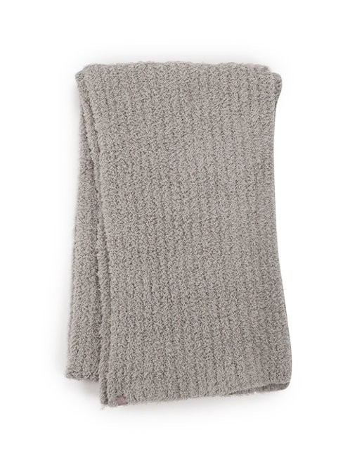 Barefoot Dreams CozyChic Ribbed Scarf - Dove Gray