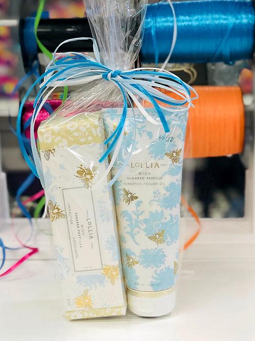 Lollia Handcreme & Shower Gel Set - Wish