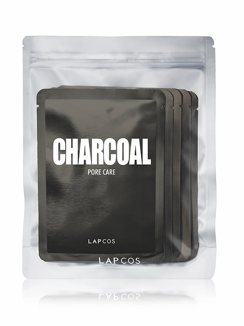 Lapcos Charcoal Face Mask - Set Of 5