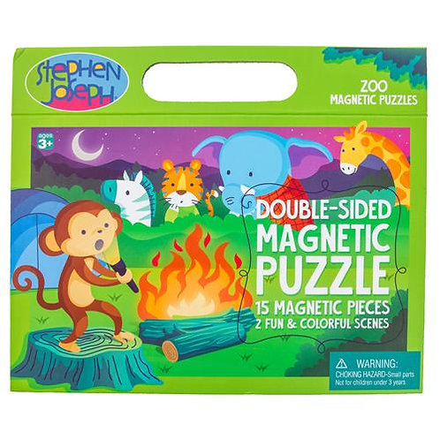 Zoo Double Sided Magnet Puzzle