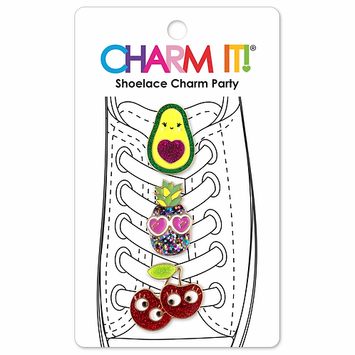 Charm It! Avocado Shoelace Charm Set