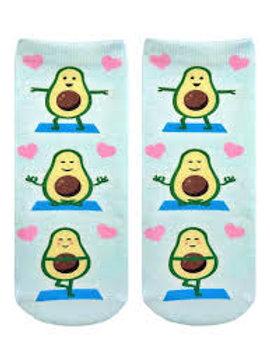 Avocado Yoga Living Royal Ankle Socks