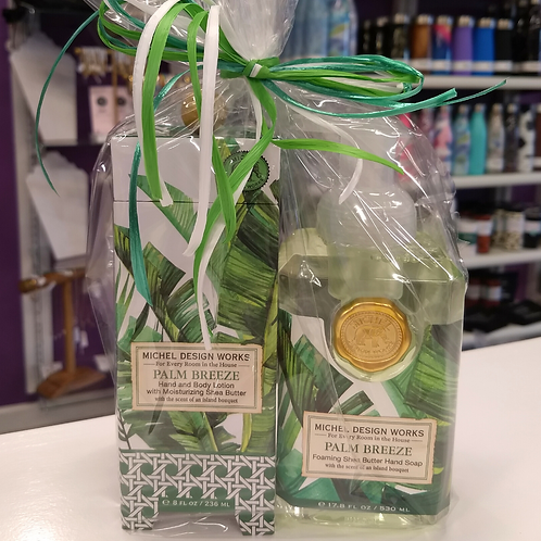 Hand Soap & Lotion Gift Set - Palm Breeze