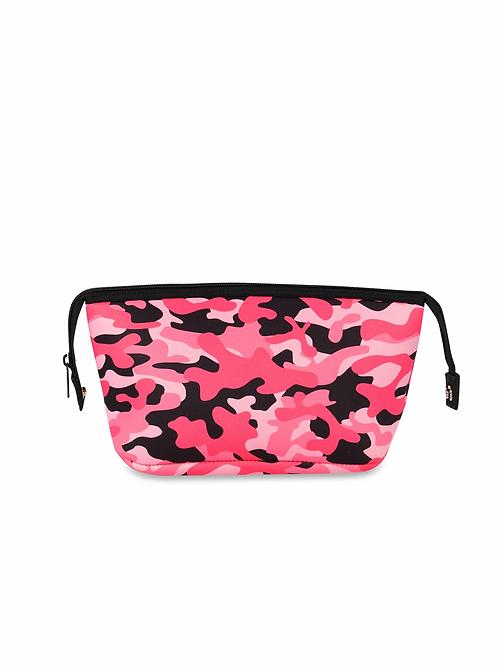 Erin Cosmetic Bag - Pink Camo Haute Shore