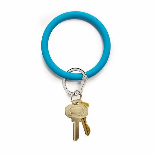 Big O Keyring - Bright Blue