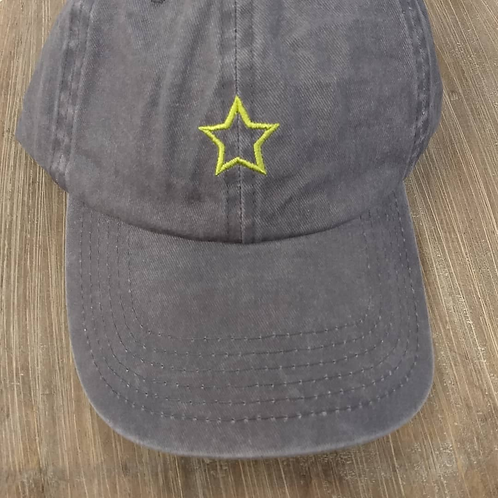 Green Star Hat (PJ Salvage)