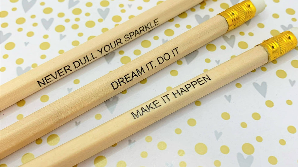 Positive Thoughts Pencils